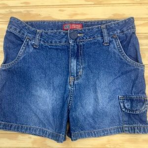 Girls Jean shorts by Faded Glory